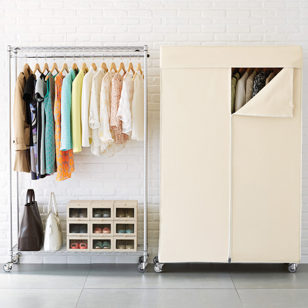 No Bedroom Closet? No Problem. Try These Solutions For Storing Your Clothes