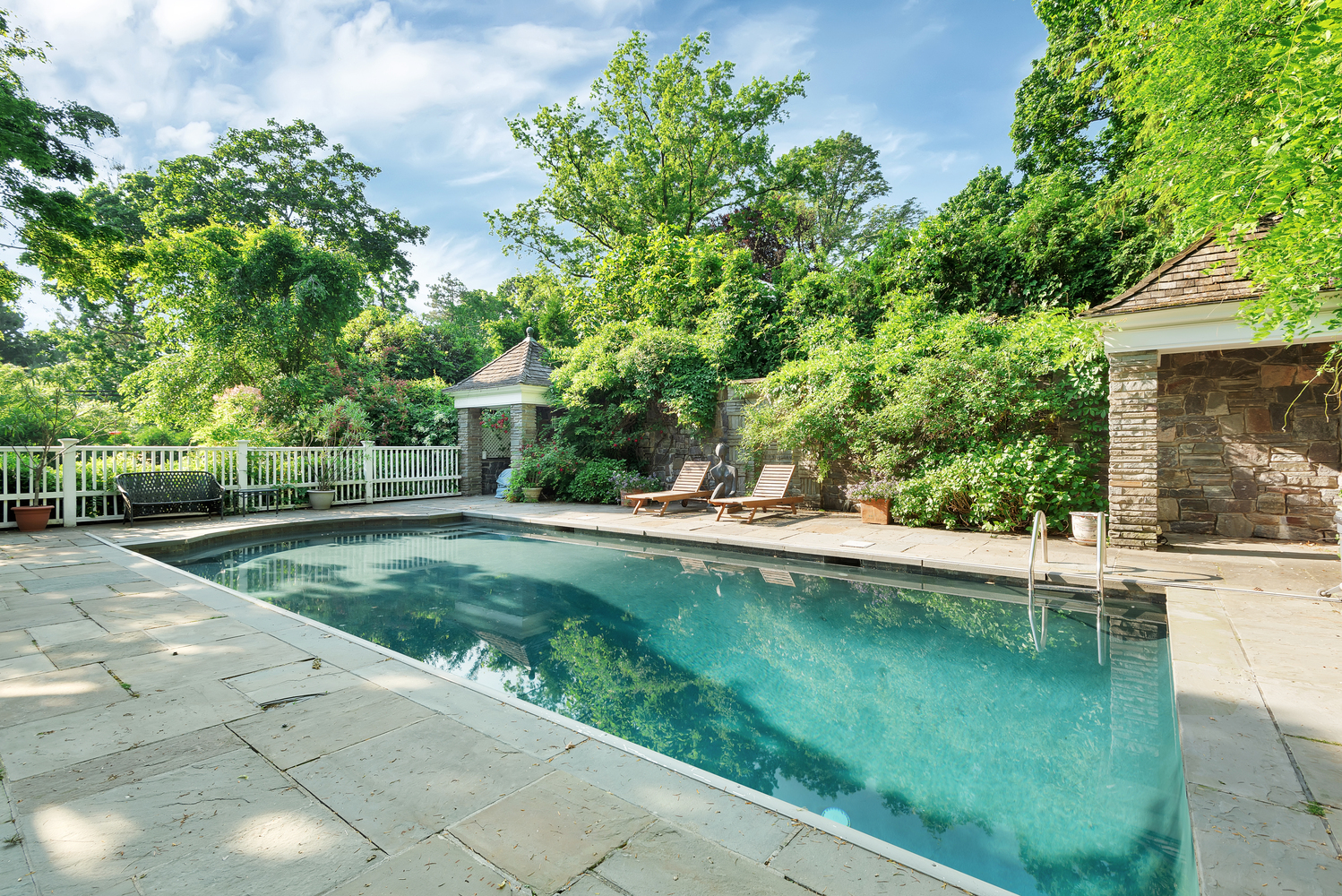 Check Out These NYC Houses With Pools That Are On The Market: