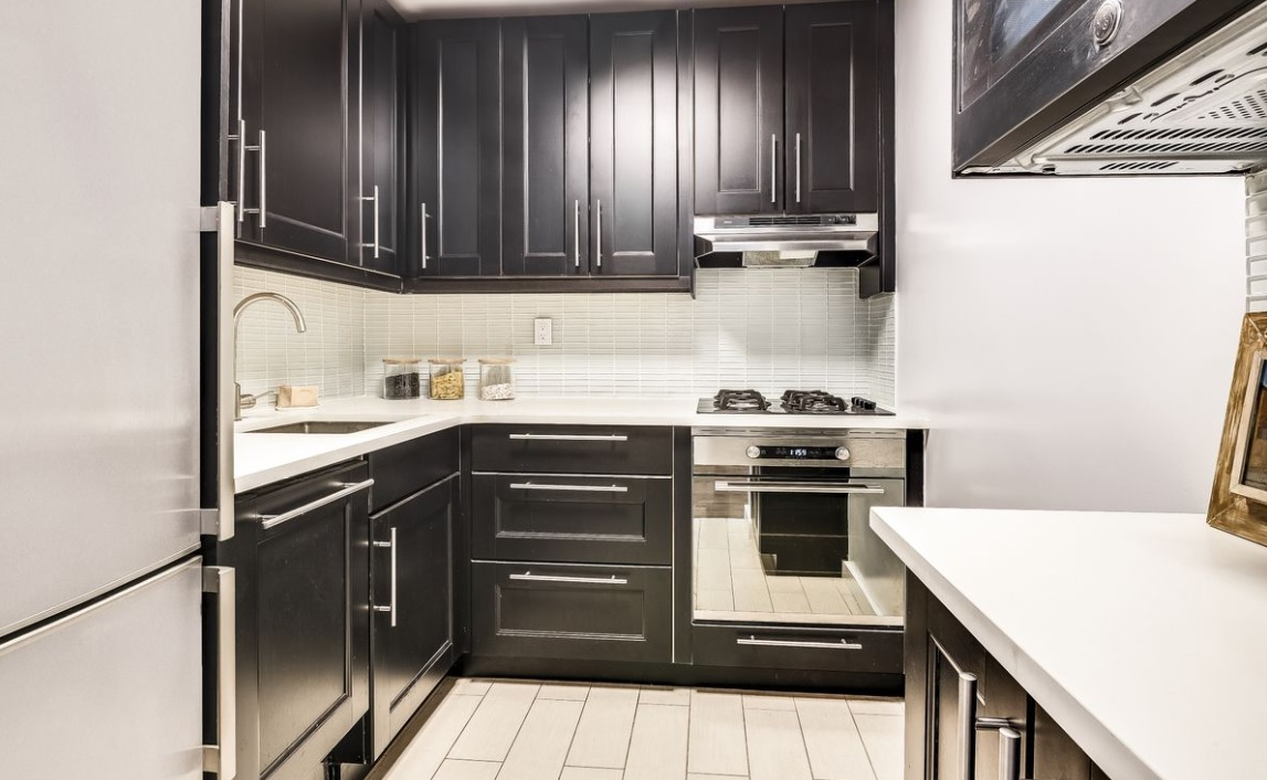 A chic Gramercy studio with a fancy