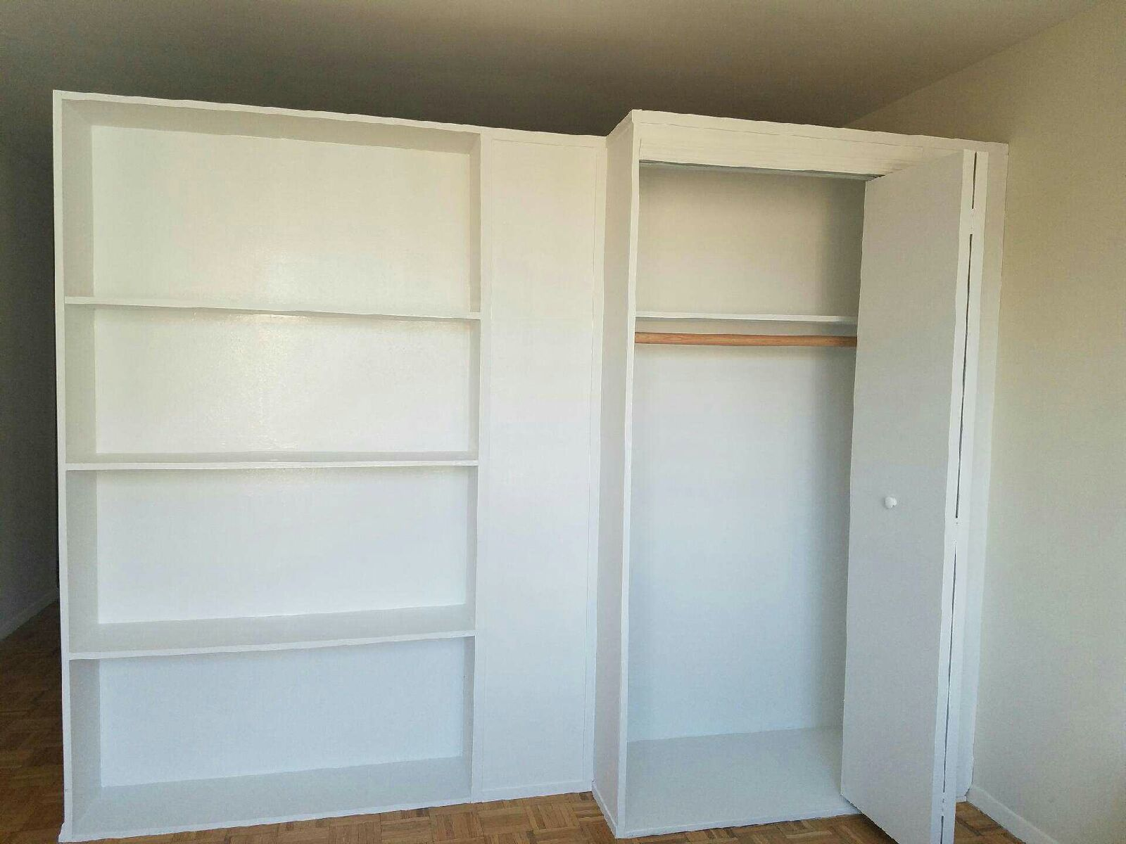 This Bookcase Wall Closet Combo From 2 NY Is A Popular Standard Offering Cost 1500