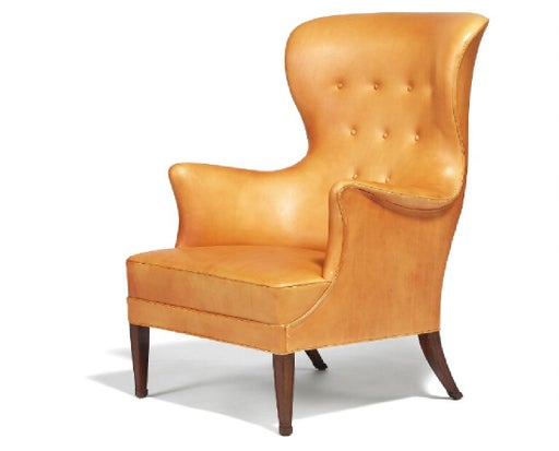 Frits Henningsen Wingback Easy Chair