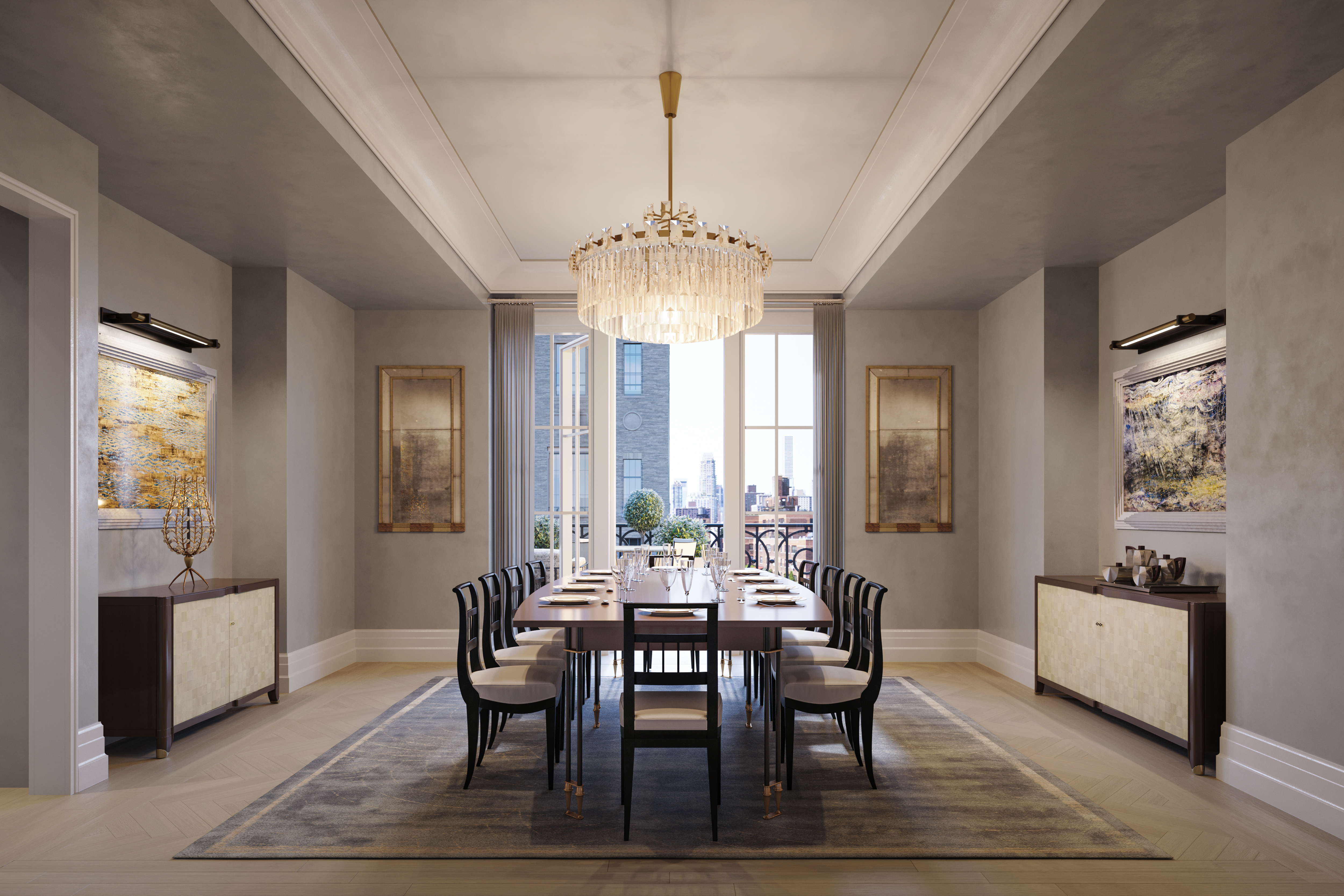 buy dining room set clarity photographs | Want a NYC condo in a new development with a separate ...