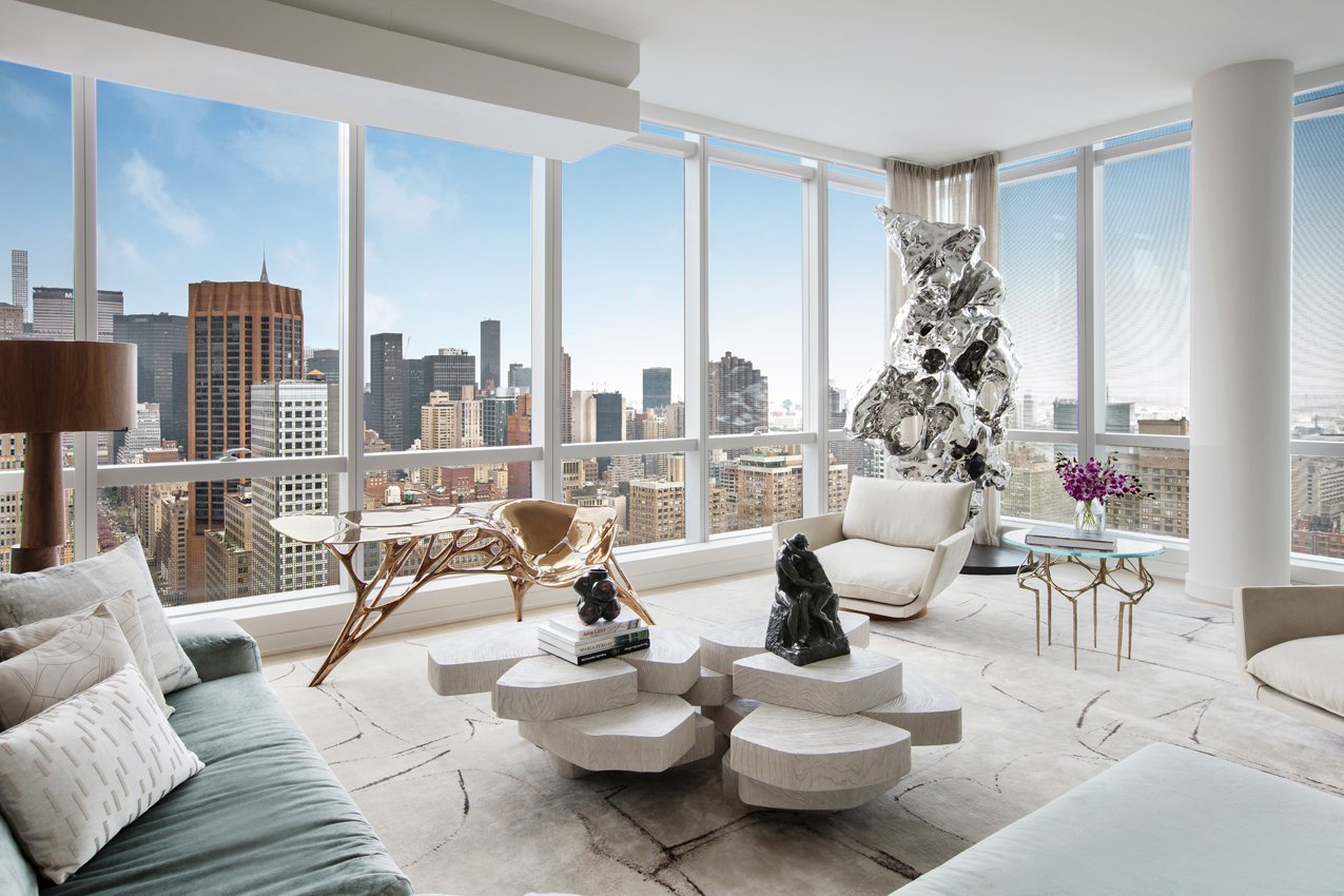 Walls of glass: How to decorate your NYC apartment with ...