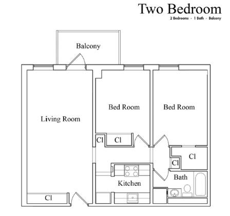 Lower East Side 2-bedroom