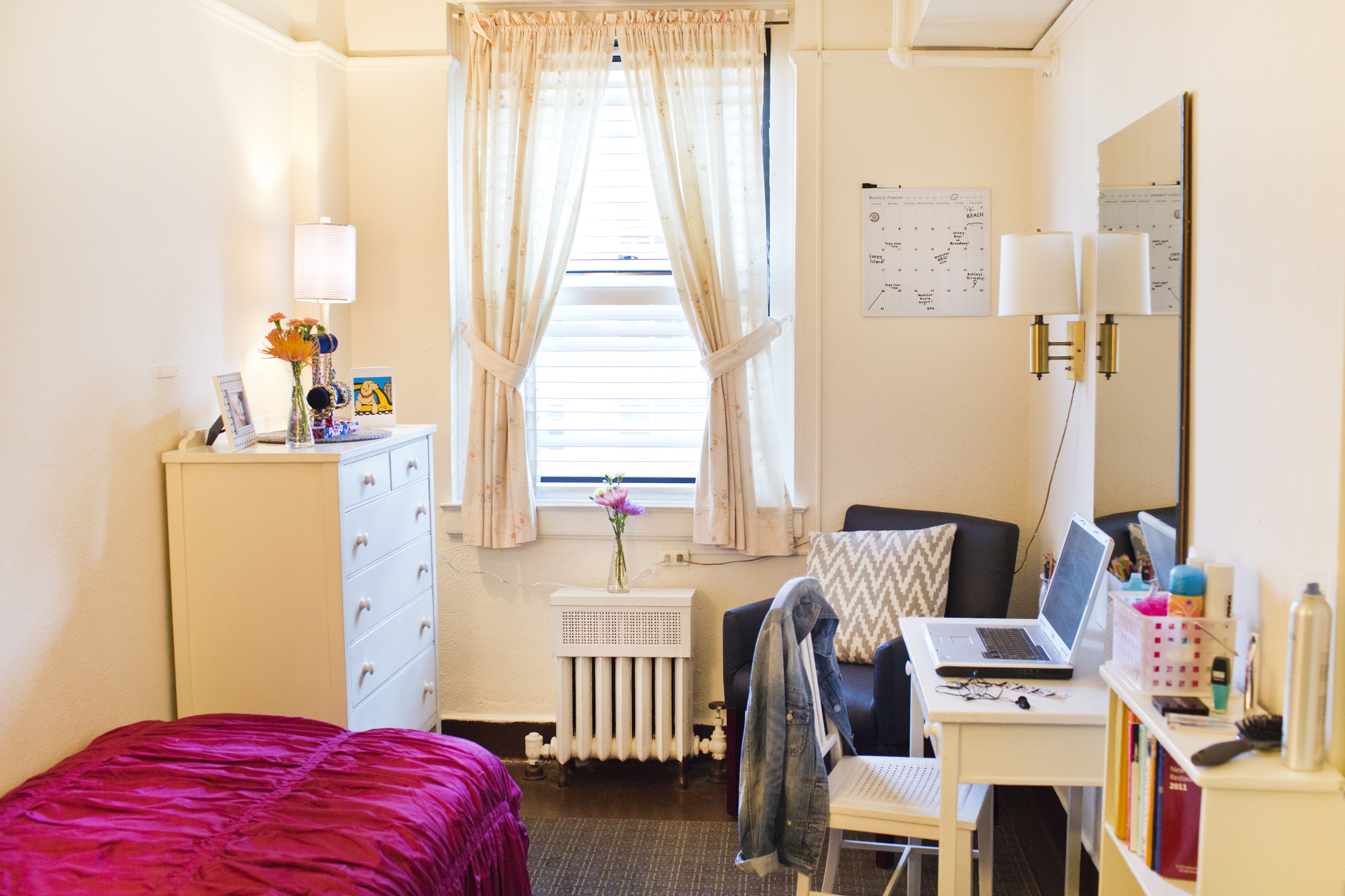 The Bedrooms There Are 375 Resemble Dorm Room Singles And Come Furnished With Beds Linens Dressers Desks Sinks Fairly Sizeable By New York