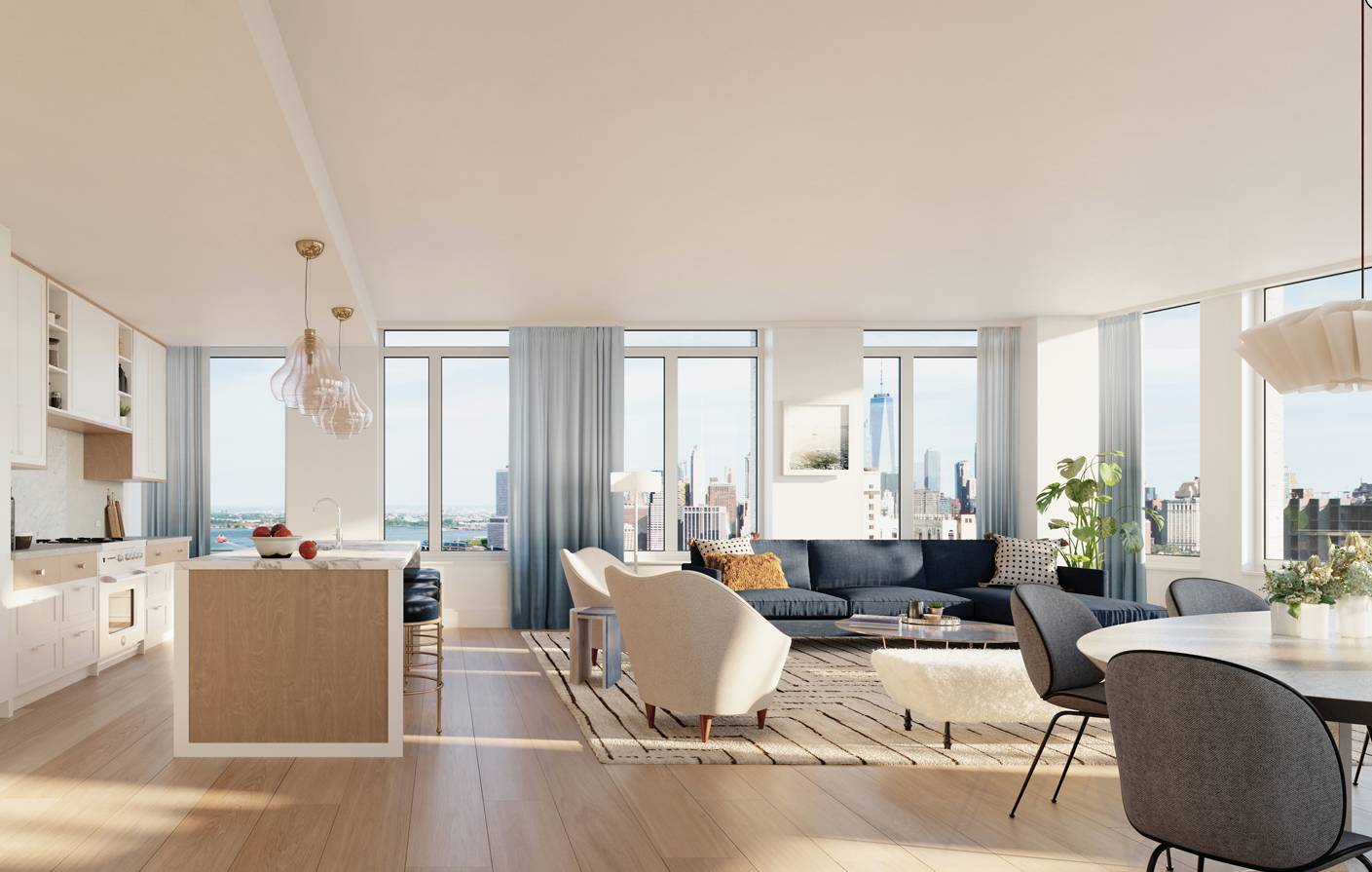 Why A Newly Built Nyc Apartment With A Separate Dining Room Is Hard To Find