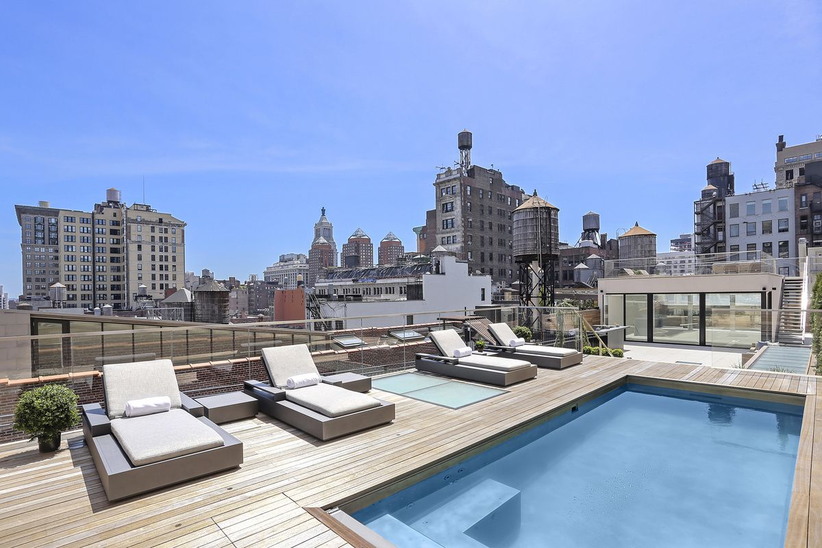 This Stunning Union Square Penthouse Comes With A Private