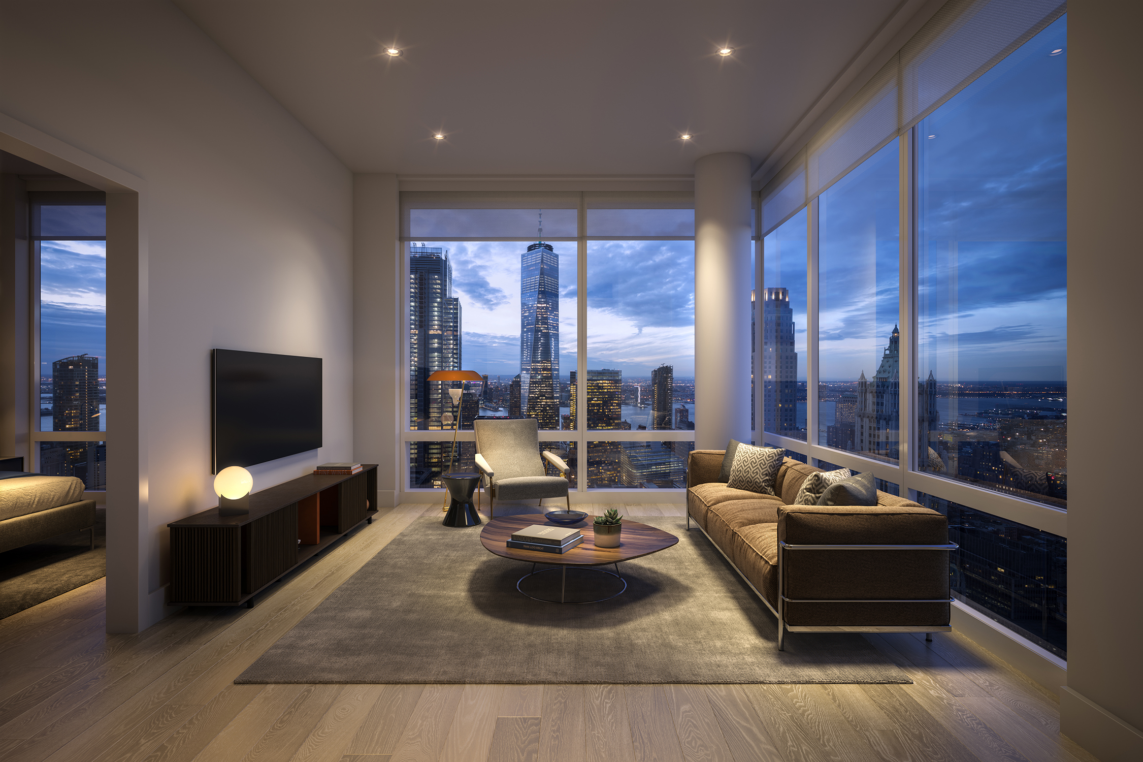 A Fidi Luxury One Bedroom Where You Can Pay Homage To The