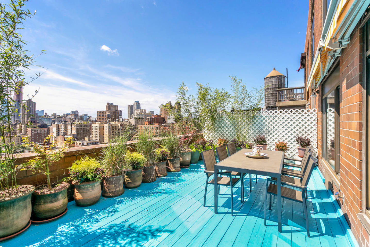 Here are 6 NYC rentals with a yard, balcony, roof deck, or terrace