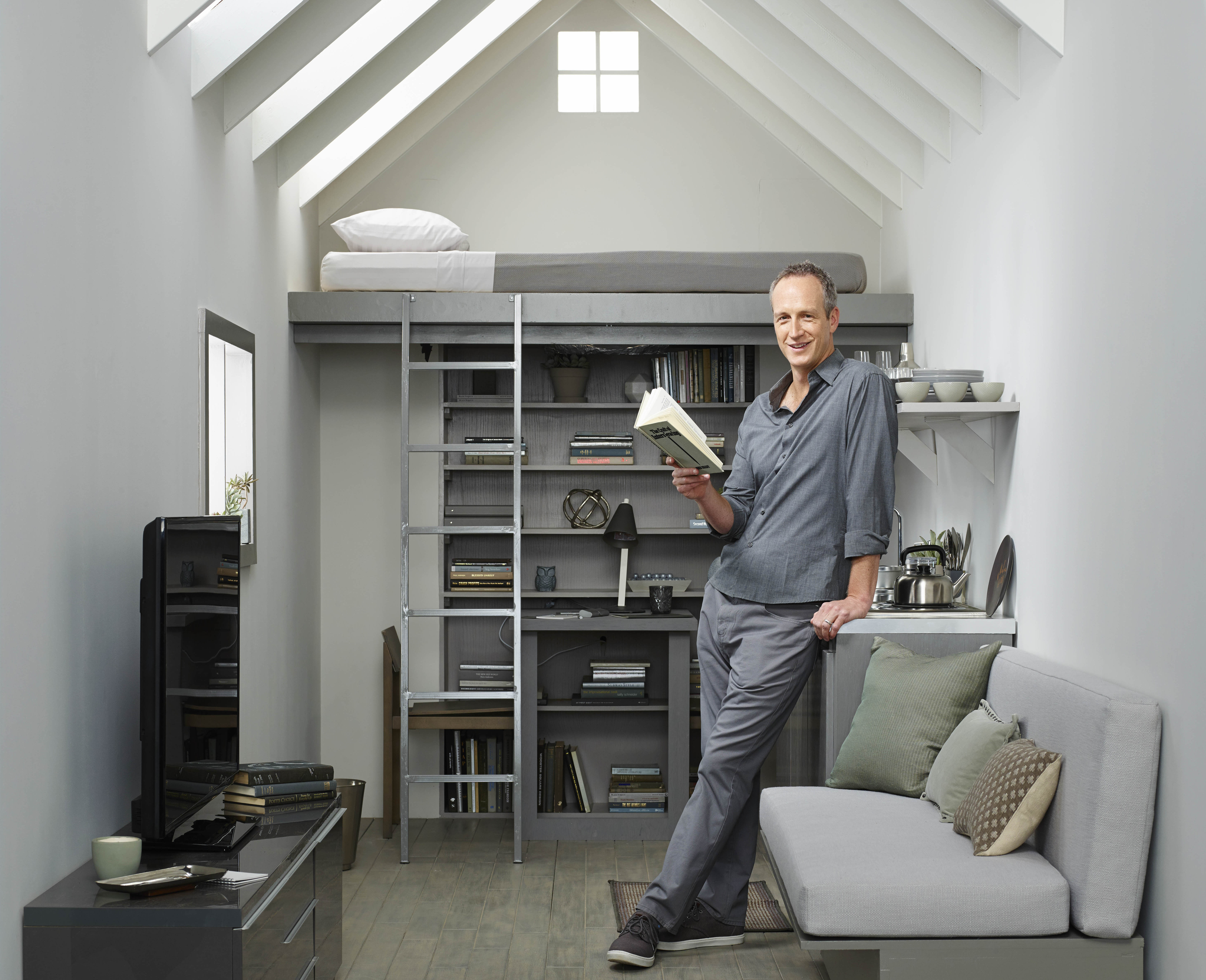 "Tiny House Nation"" host John Weisbarth on living large in a"