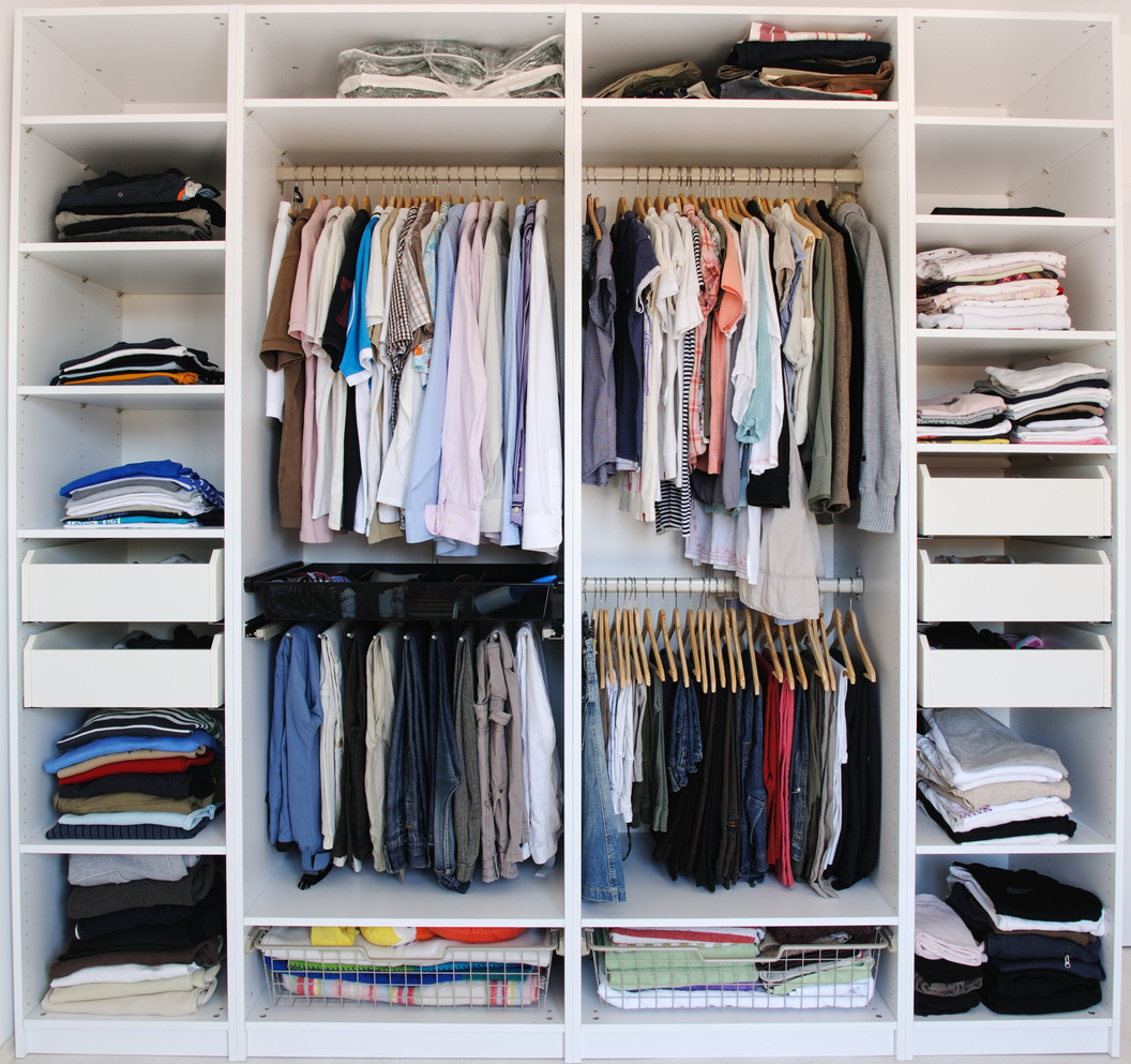 23 ways to organize your closet space so you can find your clothes