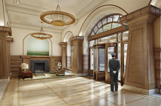 How To Renovate A Lobby And Keep Almost Everyone Happy