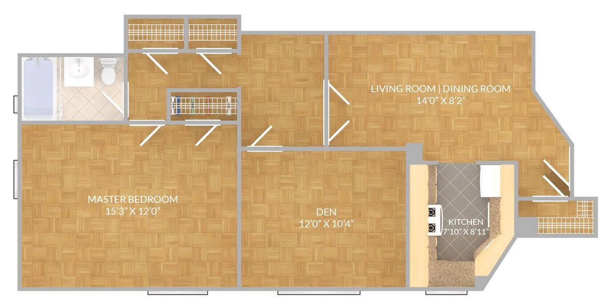 Would you rent this two bedroom at StuyTown for 3899 for two years – Stuy Town 2 Bedroom Floor Plan