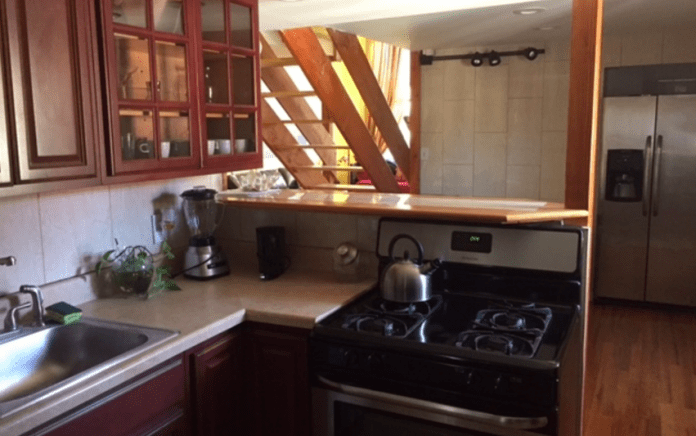carroll gardens rental duplex kitchen