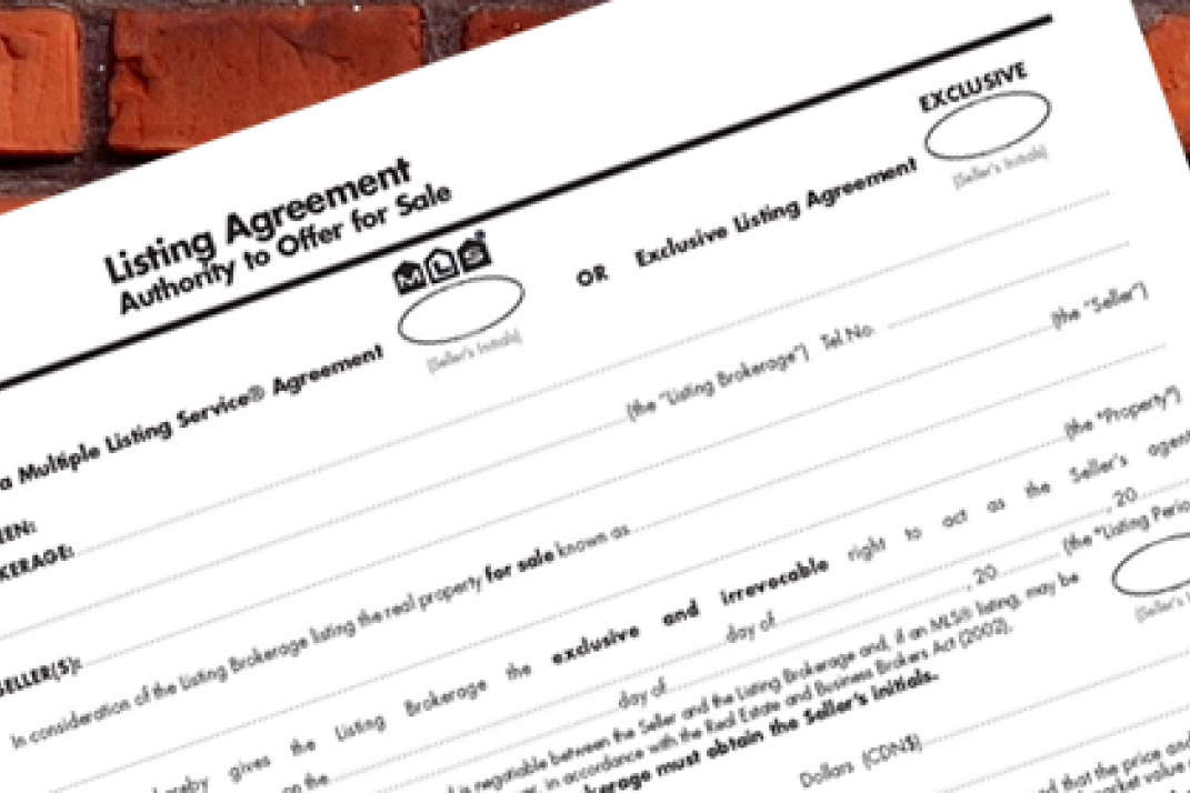 Tips For Negotiating A Listing Agreement