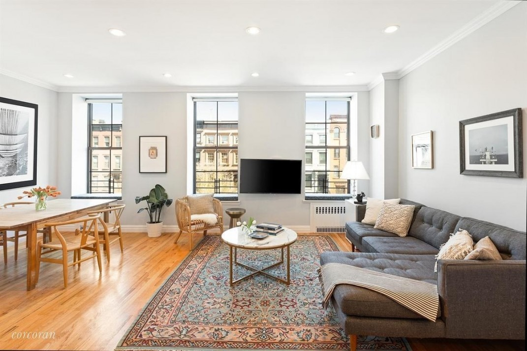 A two bedroom in Carroll Gardens, with space for a home ...