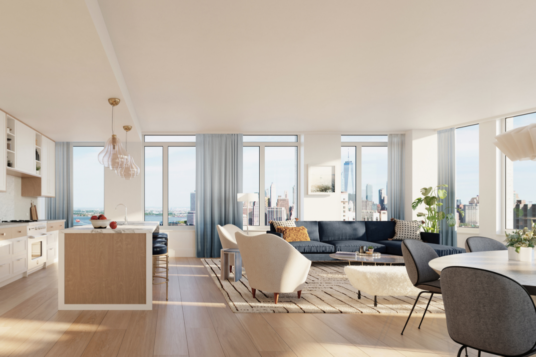 Why A Newly Built NYC Apartment With A Separate Dining Room Is Hard Amazing 2 Bedroom Apartments Manhattan Concept Remodelling