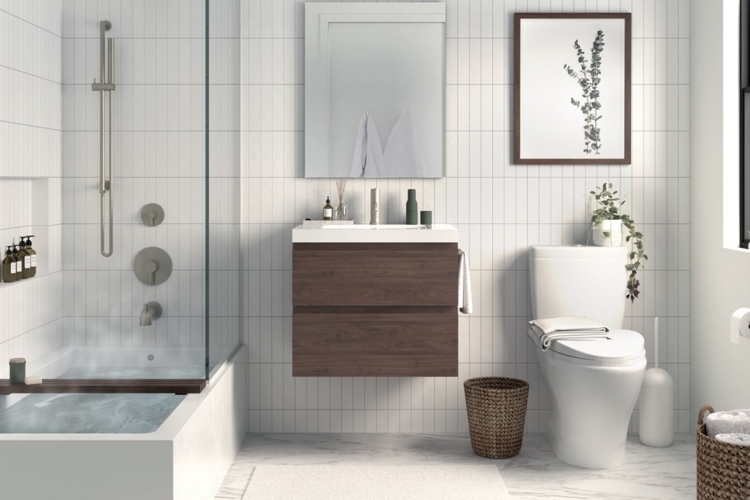 Peachy How Much Does It Cost To Renovate A Bathroom In Manhattan Home Interior And Landscaping Oversignezvosmurscom