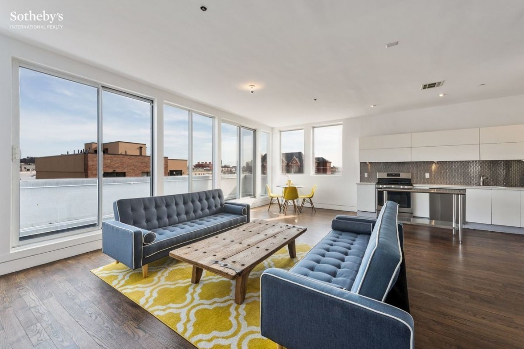 A Three Bedroom Bushwick Penthouse With A Roof Deck And Tax Abatement For  $1,095,000