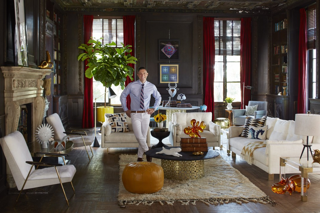 Jonathan Adler On His Coop His Love Of Ping Pong And Why The Adorable Jonathan Adler Living Room