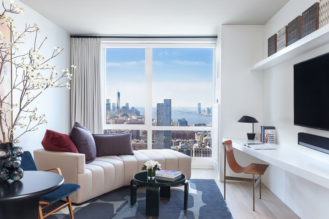 Here's What A 4040 Million Luxury Studio Apartment Looks Like Inspiration Manhattan One Bedroom Apartments Model Remodelling
