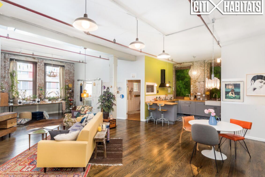 A Massive Williamsburg Artist S Loft Begs Your Creativity Just Don T Expect To Take The L Train