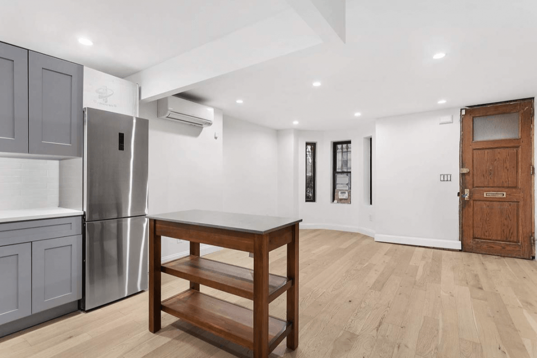 Would you rent this renovated basement apartment, and live