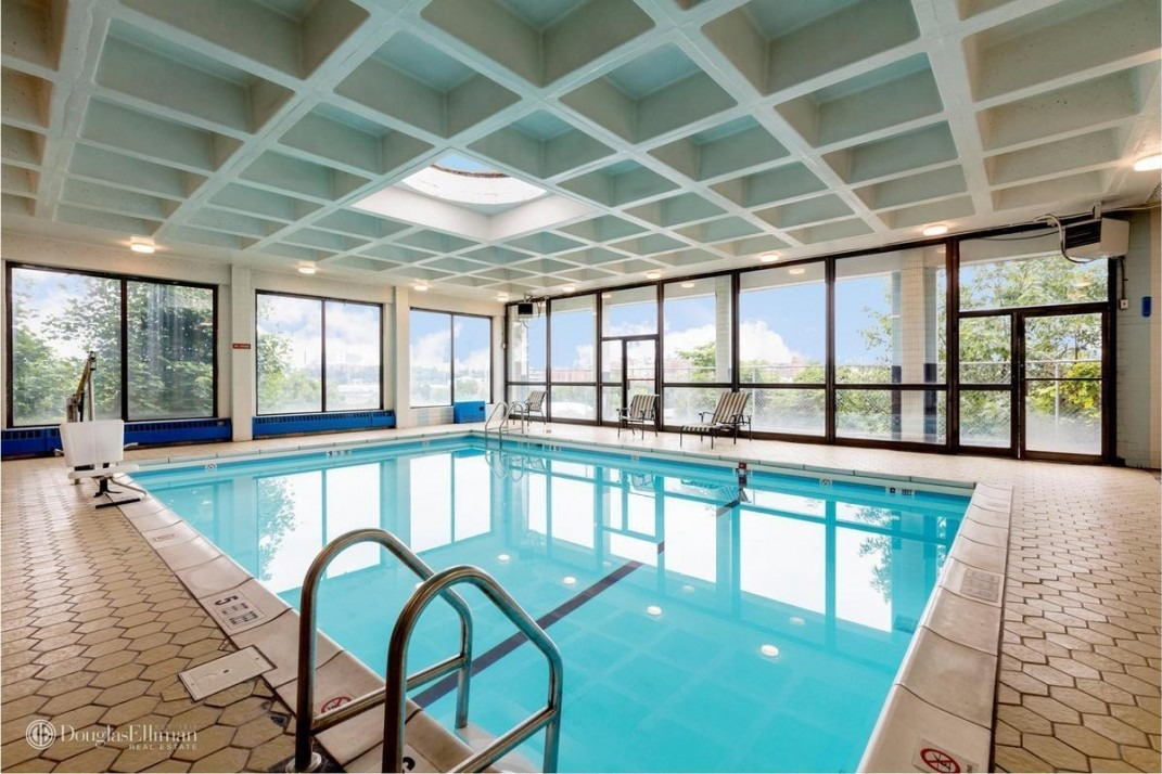 Finding a NYC apartment with private pool access is easier ...