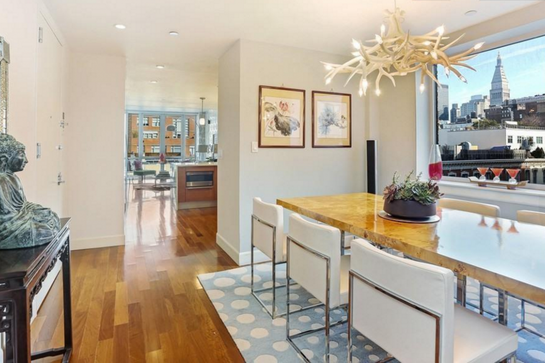 This penthouse condo comes with a layout that maximizes privacy