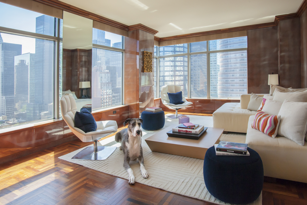 Meet the Great Dane that sells New York City luxury real estate