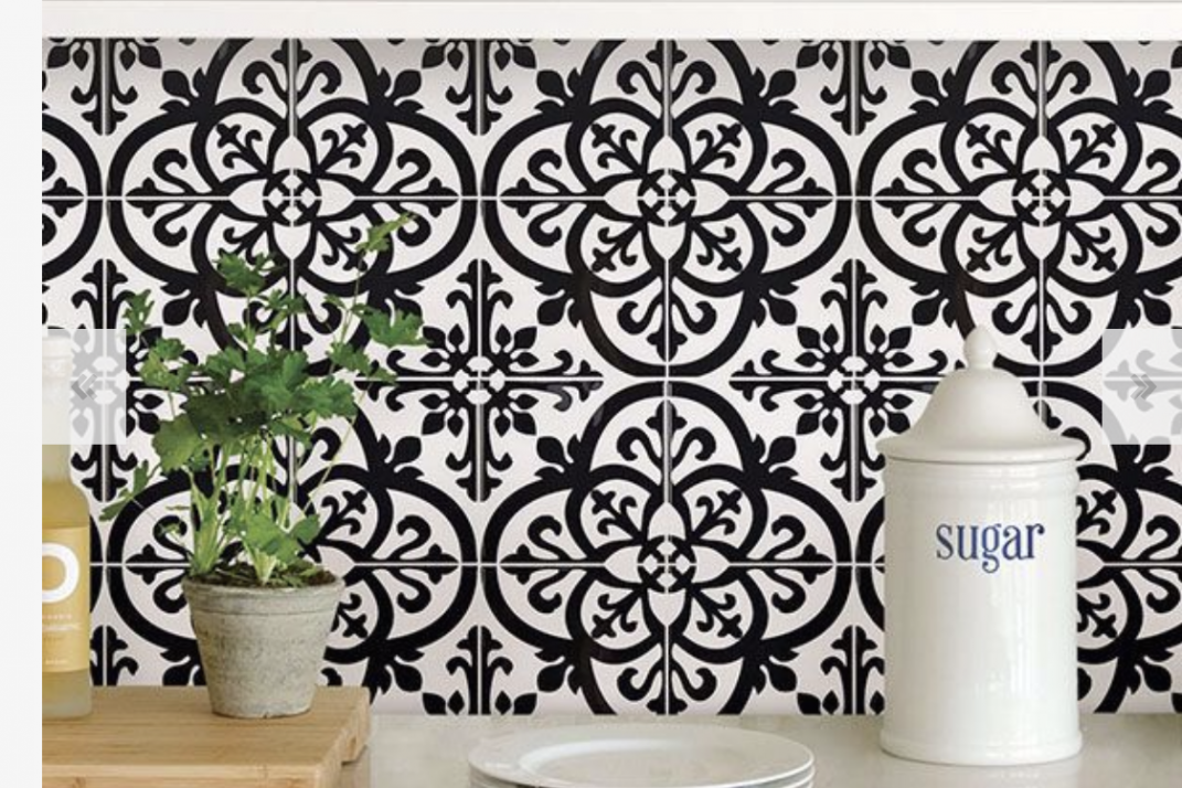 8 self-adhesive tile designs so you don\'t have to hate your ...