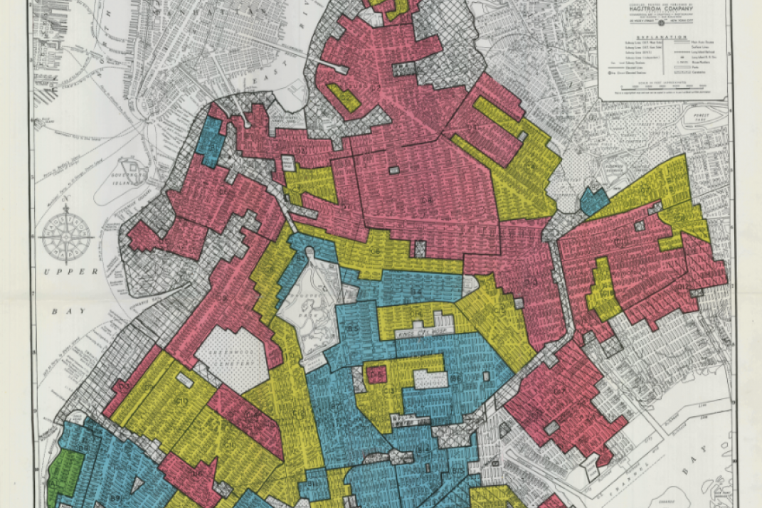 Map Of New York By Neighborhood.Redlining How One Racist Depression Era Policy Still Shapes New