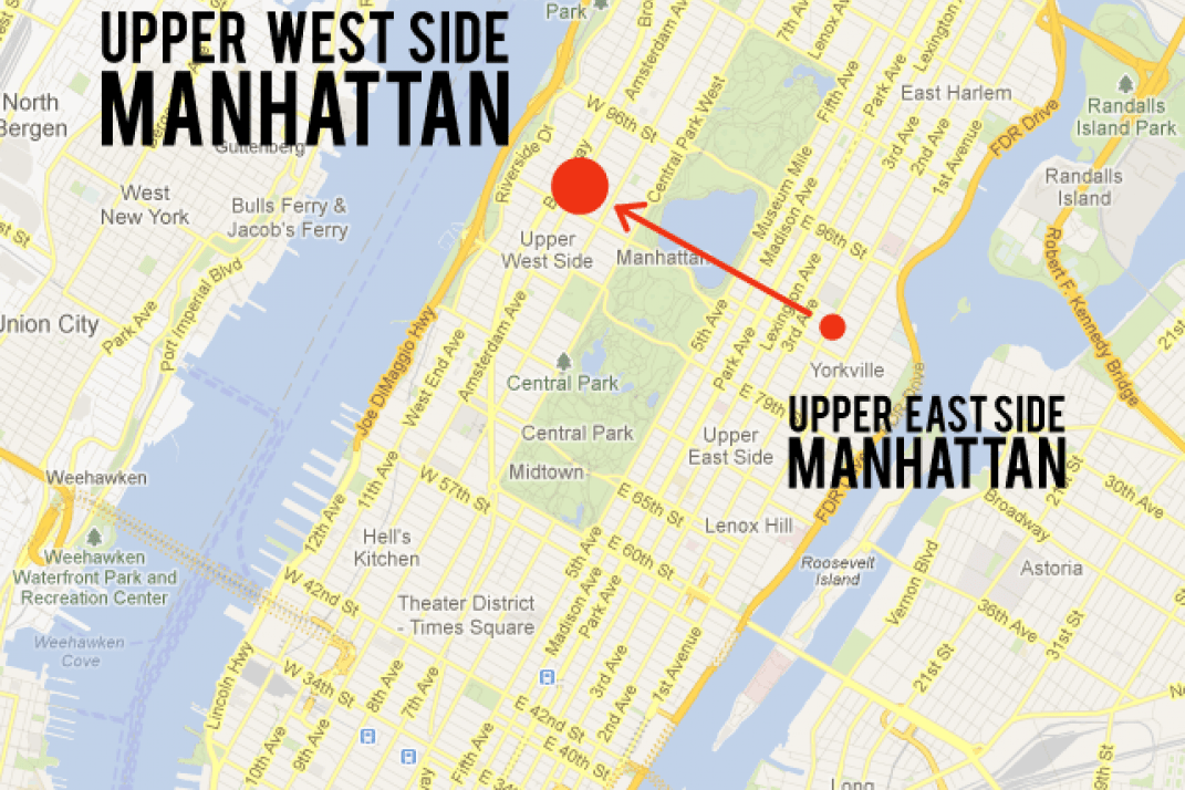 Upper East To Upper West Less Uppity And Further From