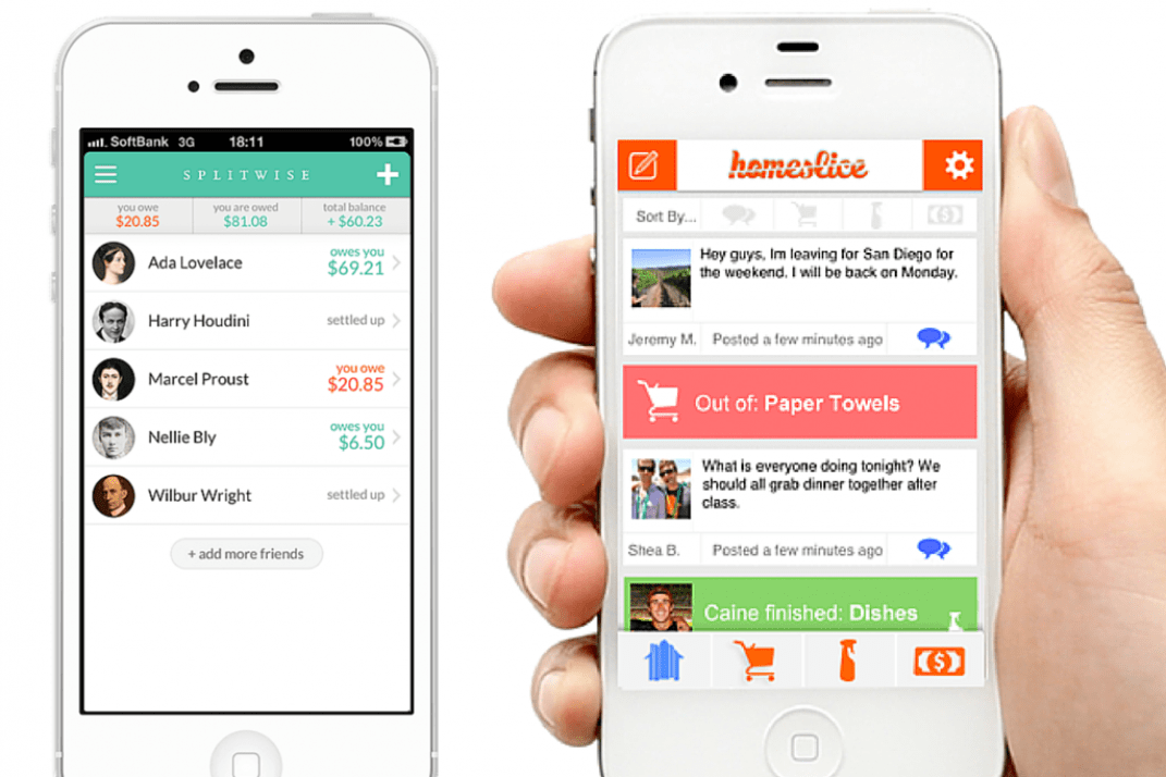 test drive 4 expense sharing apps to keep the peace between roommates