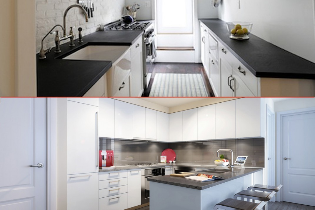 Would you rather have an open kitchen or a galley kitchen?