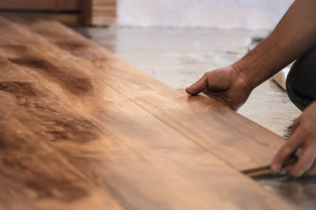How To Fix Your Apartments Sloping Wood Floors