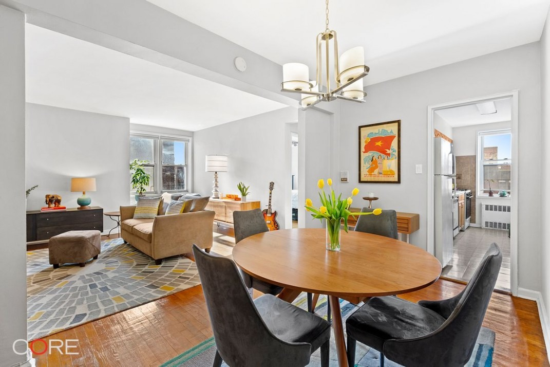 This Jackson Heights One Bedroom Offers Space And Lots Of Windows For 398 500