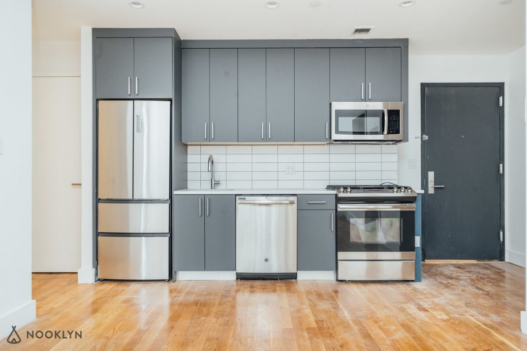Would you live in this Bed-Stuy luxury rental with a pool by