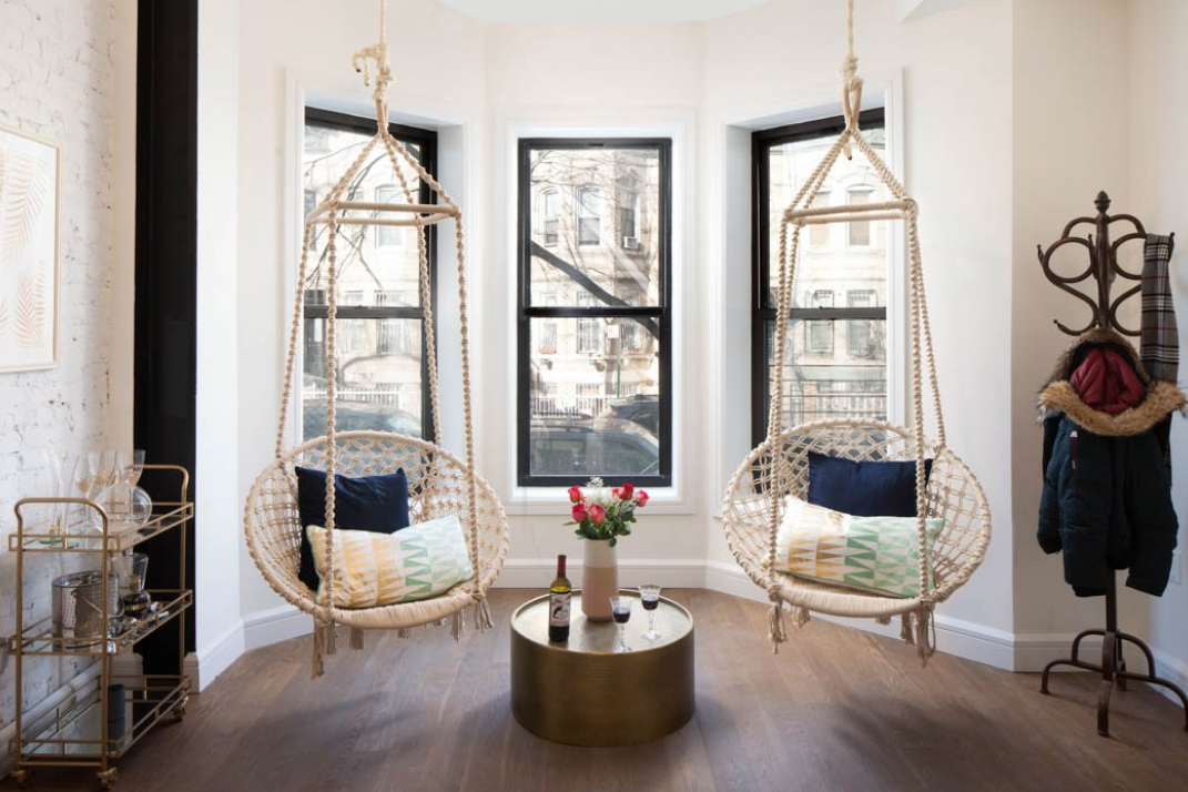 How To Install A Swing Hammock Or Pull Up Bar In Your Nyc Apartment If You Re Allowed