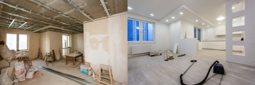 First-time renovation mistakes