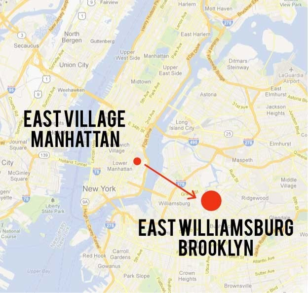 East Village To Williamsburg It S Still Lively And Fun But For Much Less Rent