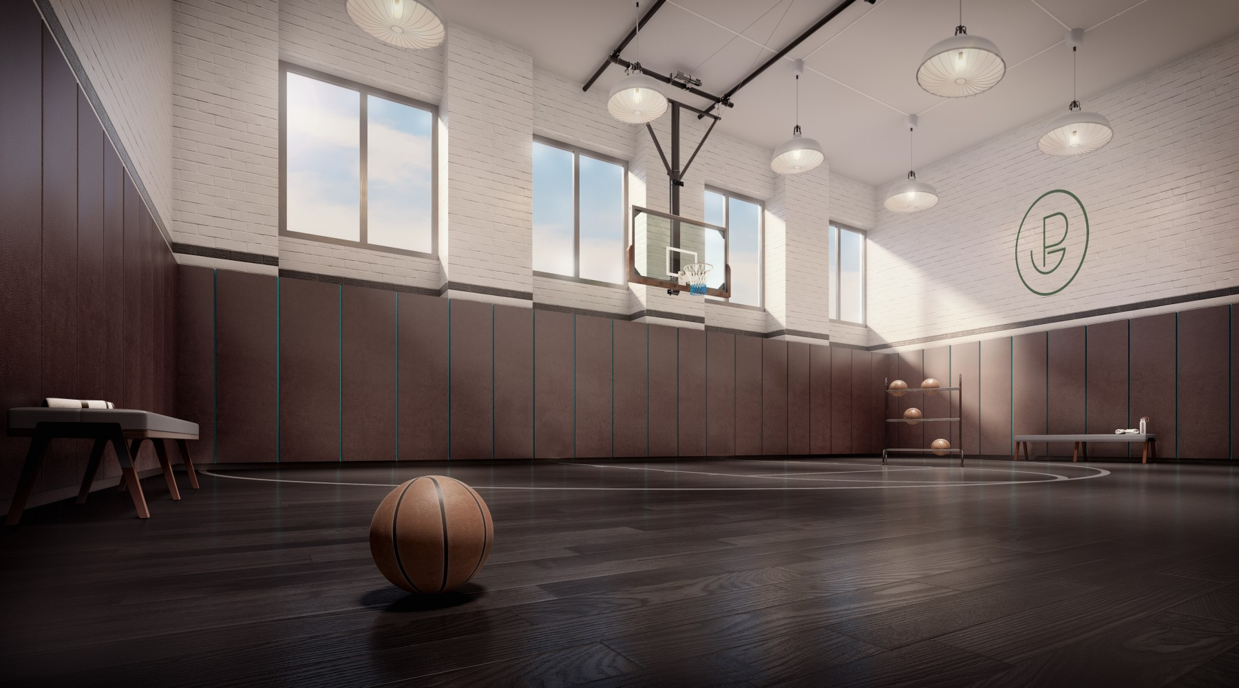 New Nyc Condo Buildings Woo Sports Fans With Eye Popping Basketball And Tennis Courts Soccer Fields And More