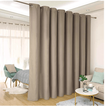How To Divide A Room With Curtain