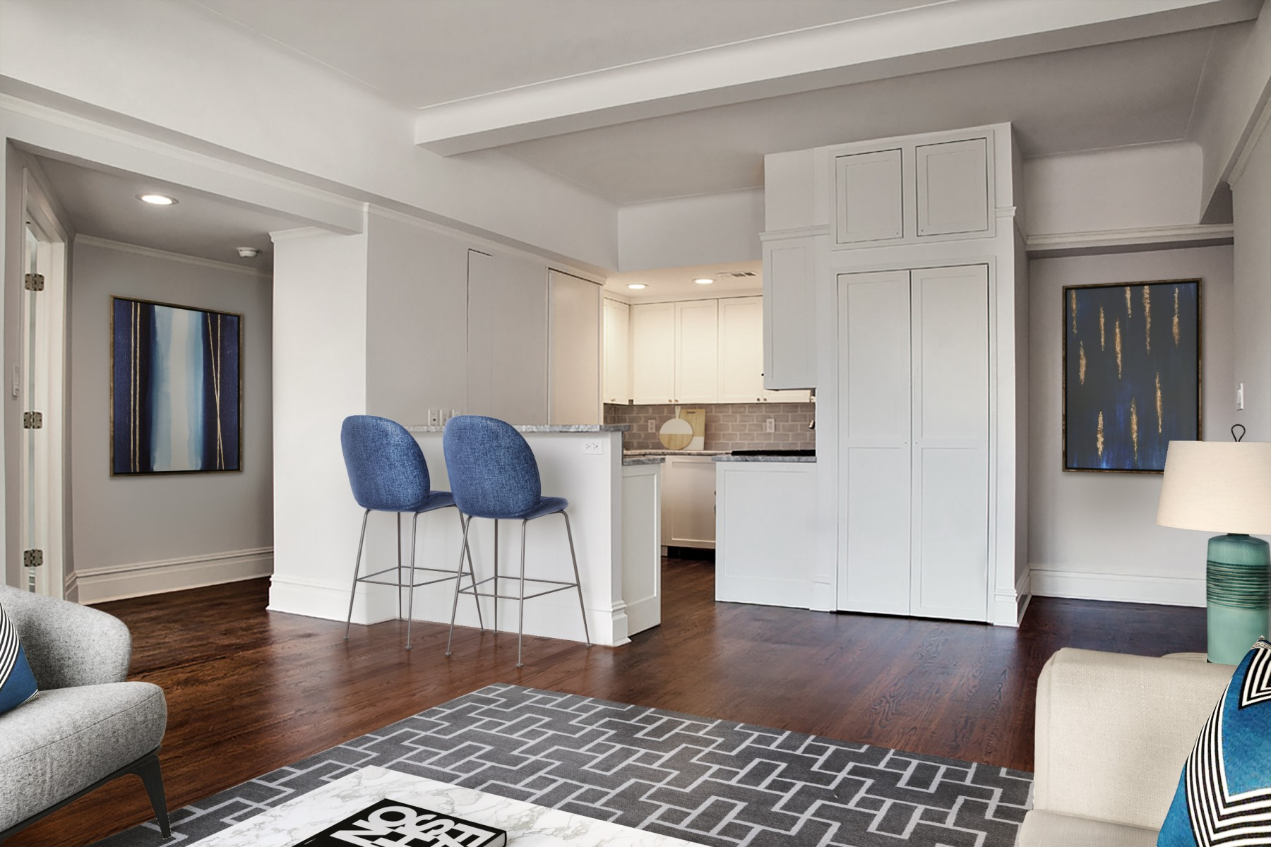 Here S How Much It Costs To Gut Renovate A 1 000 Square Foot Upper West Side Co Op