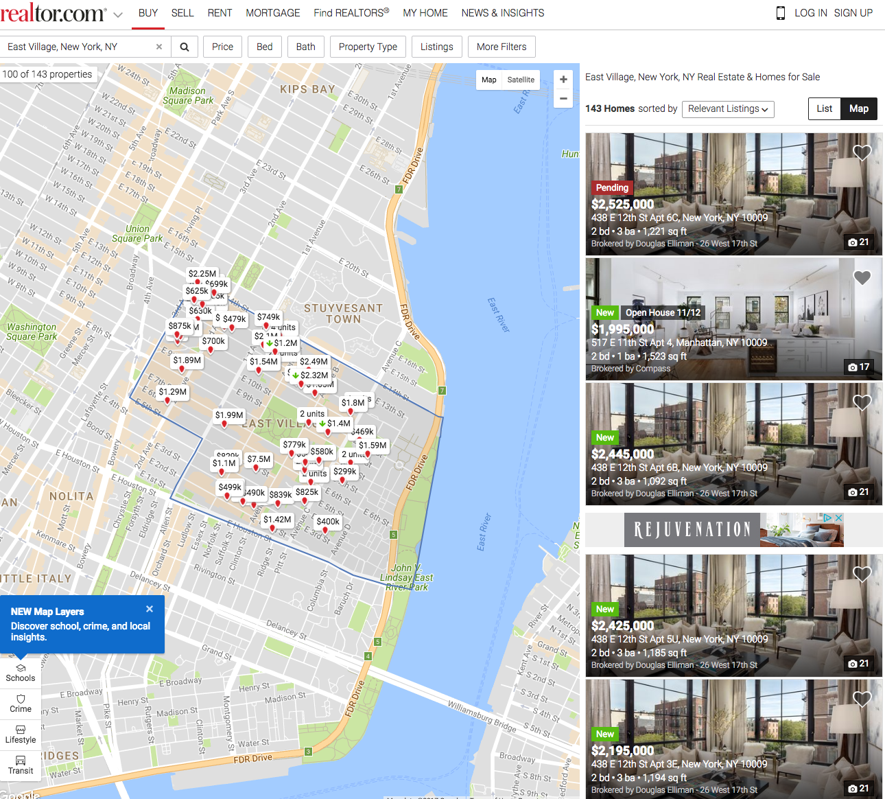 Best Site To Look For Apartments: The 3 Best Websites For Buying A Co-op Or Condo Apartment