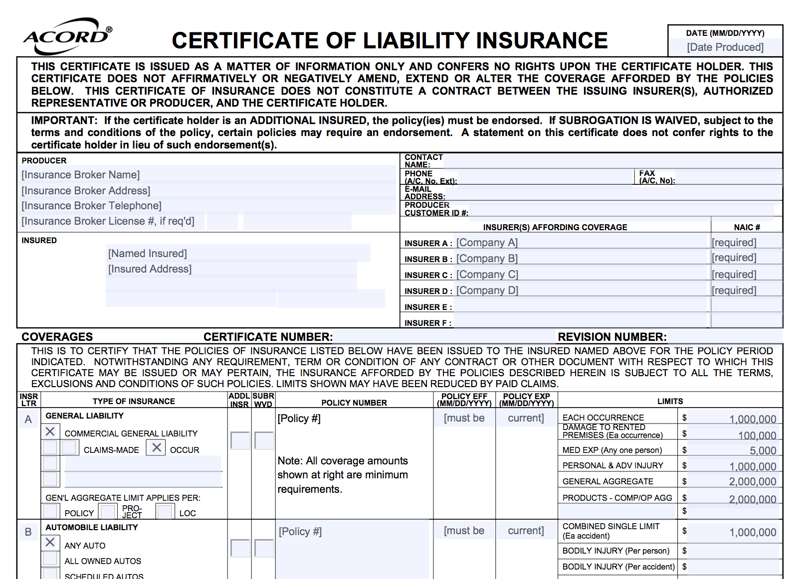 What's a Certificate of Insurance—and when do you need one?