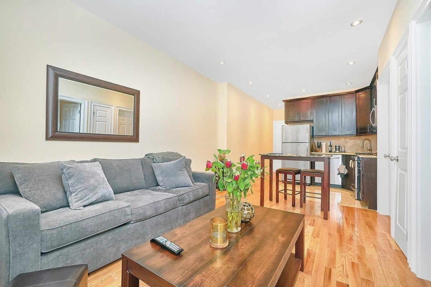 WASHINGTON HEIGHTS, MANHATTAN: A Recently Renovated Two Bedroom Apartment  With A Large Living Room, Stainless Steel Kitchen Appliances And A  Brand New ...