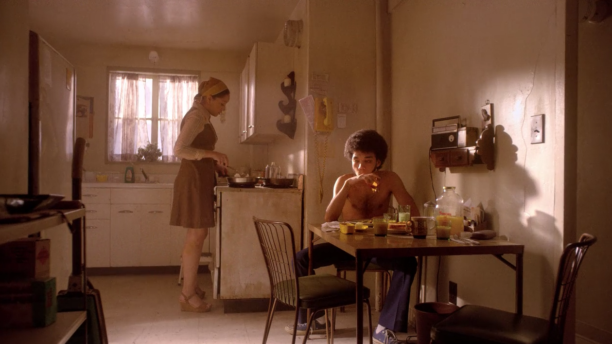 His Friends Have Similarly Generic Apartments Though With Different Varietals Of Ultra 70s Decor Note The Macrame Plant Holder And Avocado Green Kitchen