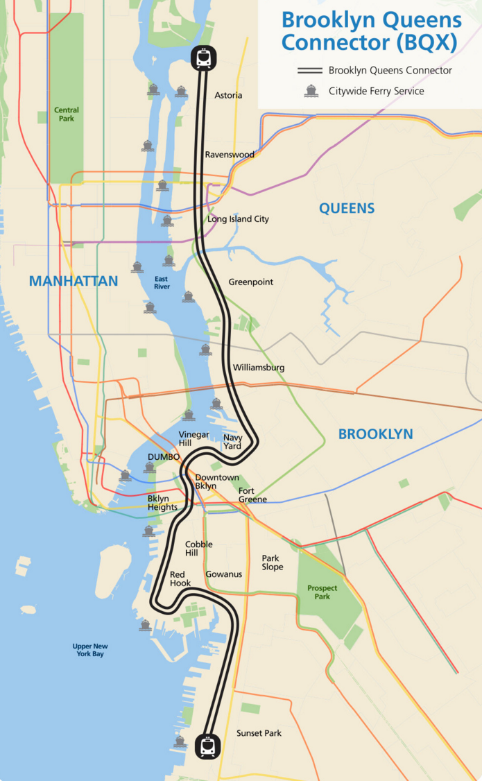 Brooklyn Heights Subway Map.5 Game Changing Nyc Transit Projects To Watch In 2017