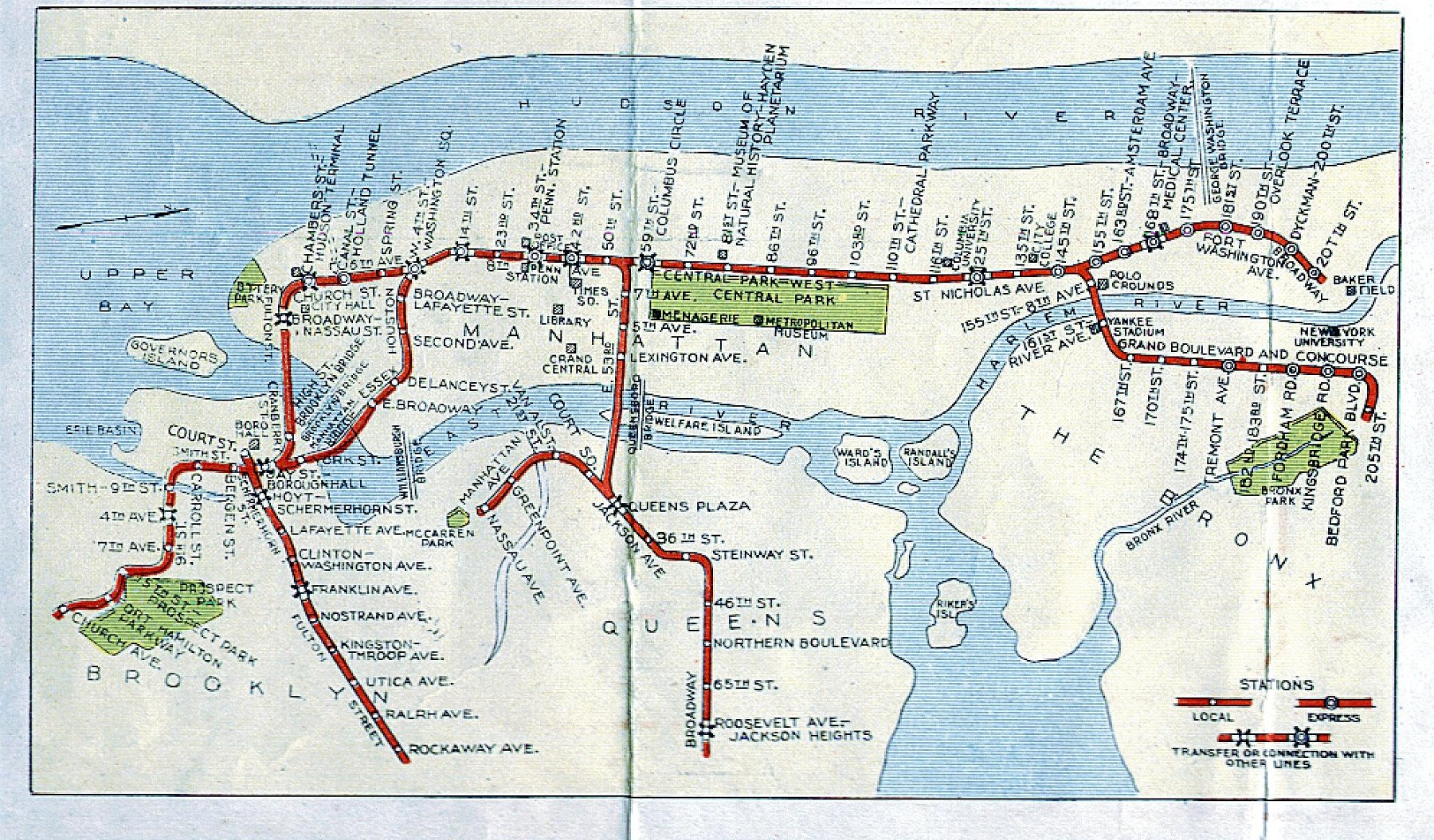 Nyc Subway Map 1910.The Biggest Moments In Nyc S Transit History